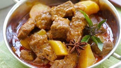 curry massaman au boeuf