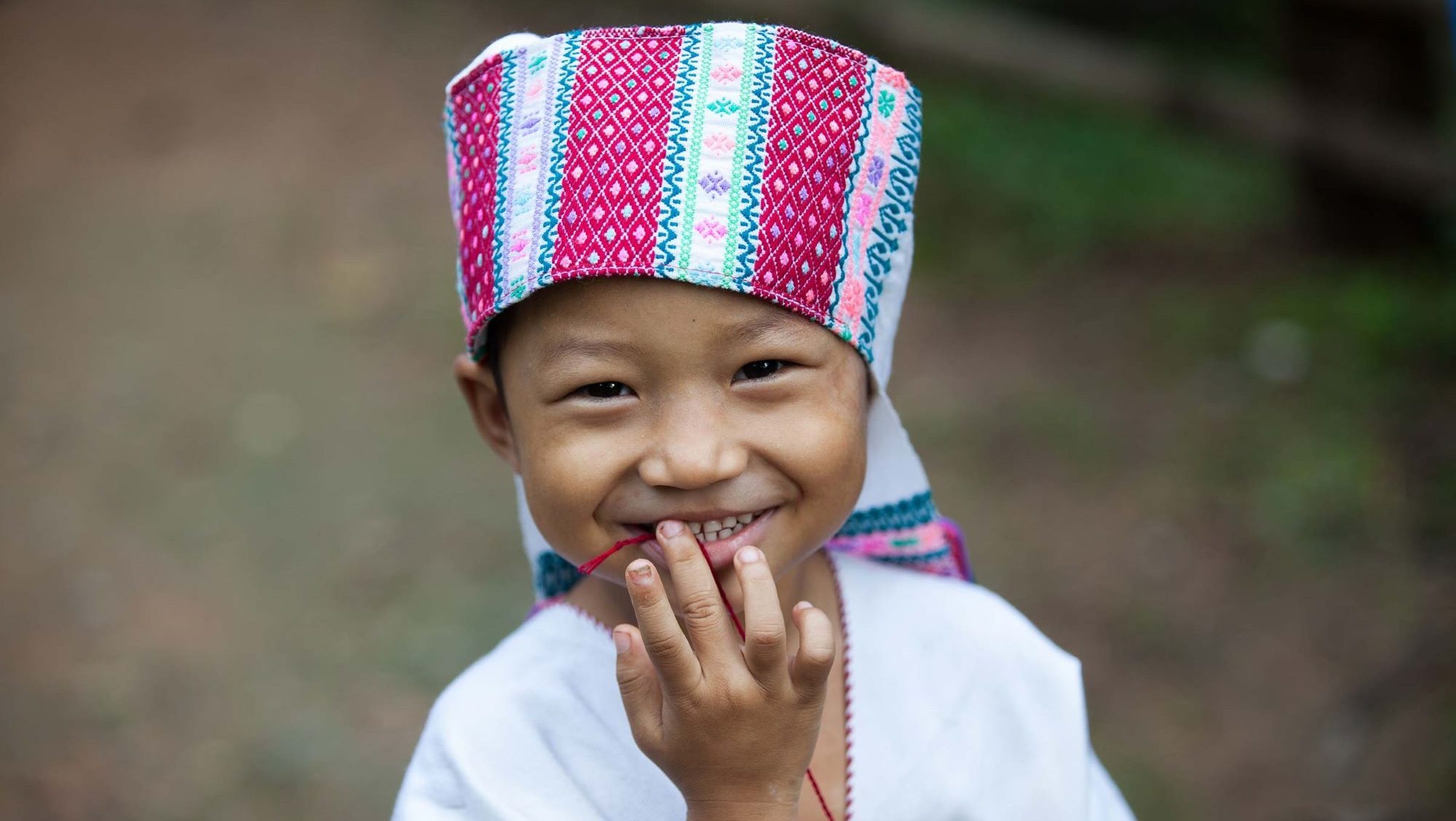 enfant ethnie thailande