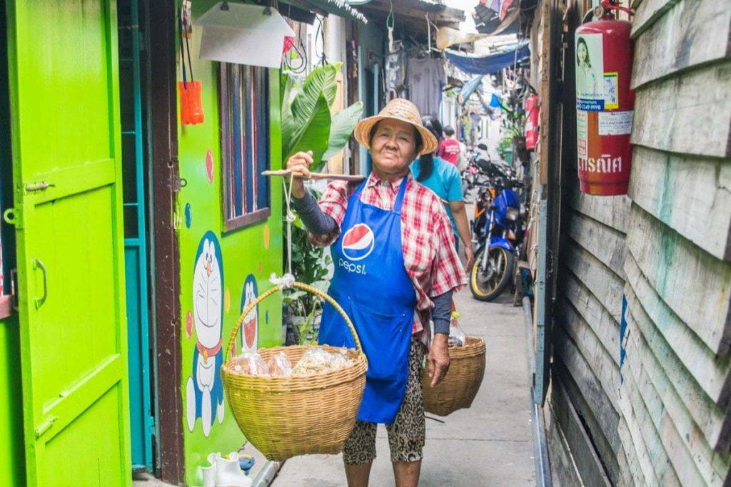vendeur de rue thailande