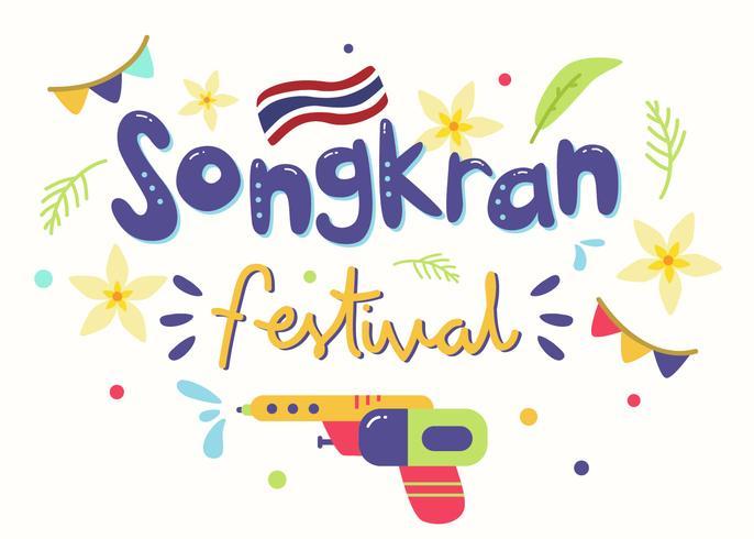 songkran festival thailande