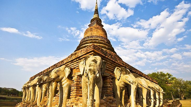 Wat Sorasak Thailande