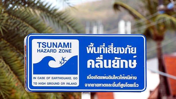 danger tsunami thailande