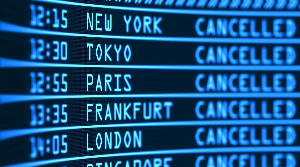 annulation voyage avion